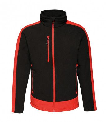 Mens Contrast Fleece