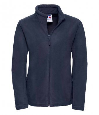 Womens Full Zip Fleece