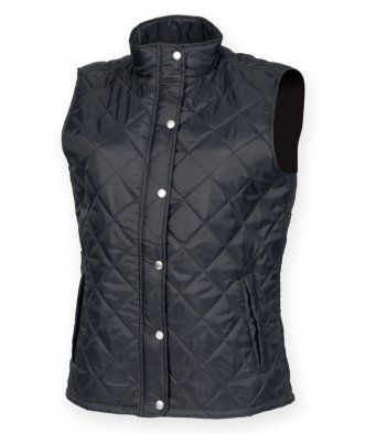 Womens Quilted Gilet Bodywarmer
